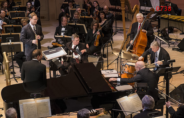2014-11-01 Carnegie Hall, Dave Bennett + Tad Weed + Pete Siers with NY Pops